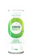 Coconut water (carbonated)