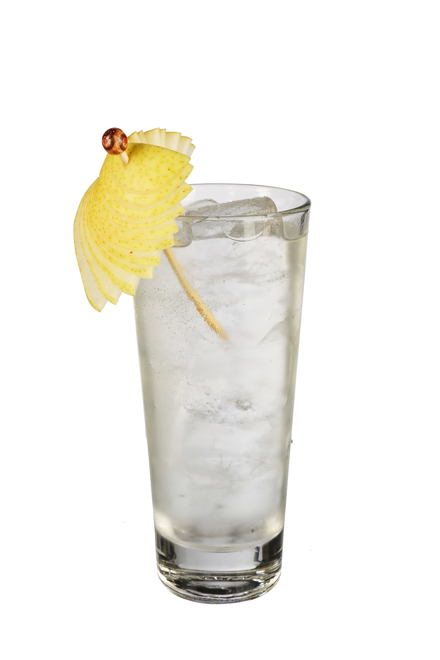 Smoky Orchard Highball image