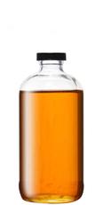 Saffron syrup (2:1 sugar syrup heated with saffron fronds)