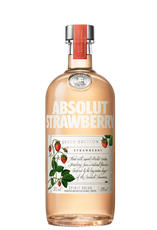 Strawberry flavoured vodka