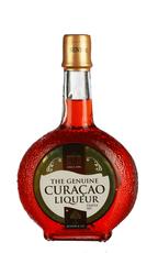 Red curaçao liqueur