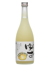 Yuzu infused sake liqueur