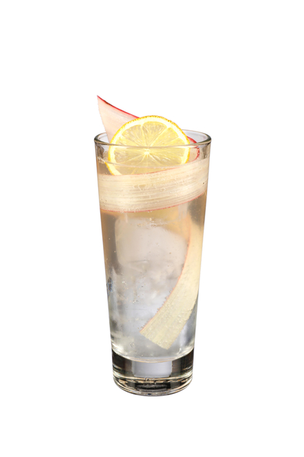 Rhubarb & Tonic Highball image