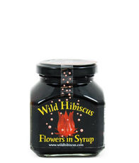 Hibiscus flower in syrup