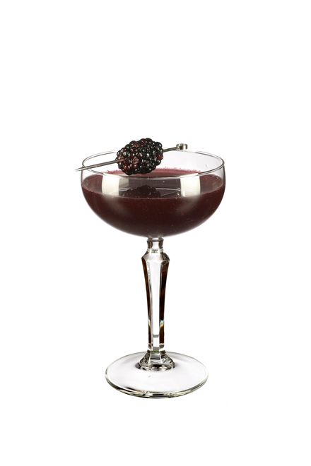 Blackberry Martini image
