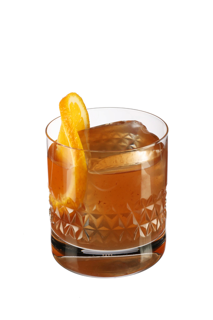 Peach Old-fashioned (Wisconsin-style) image