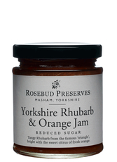 Rhubarb & orange preserve