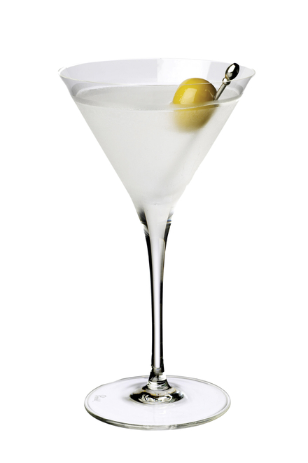 Dry Martini (10:1 ratio) Difford's preferred shaken image