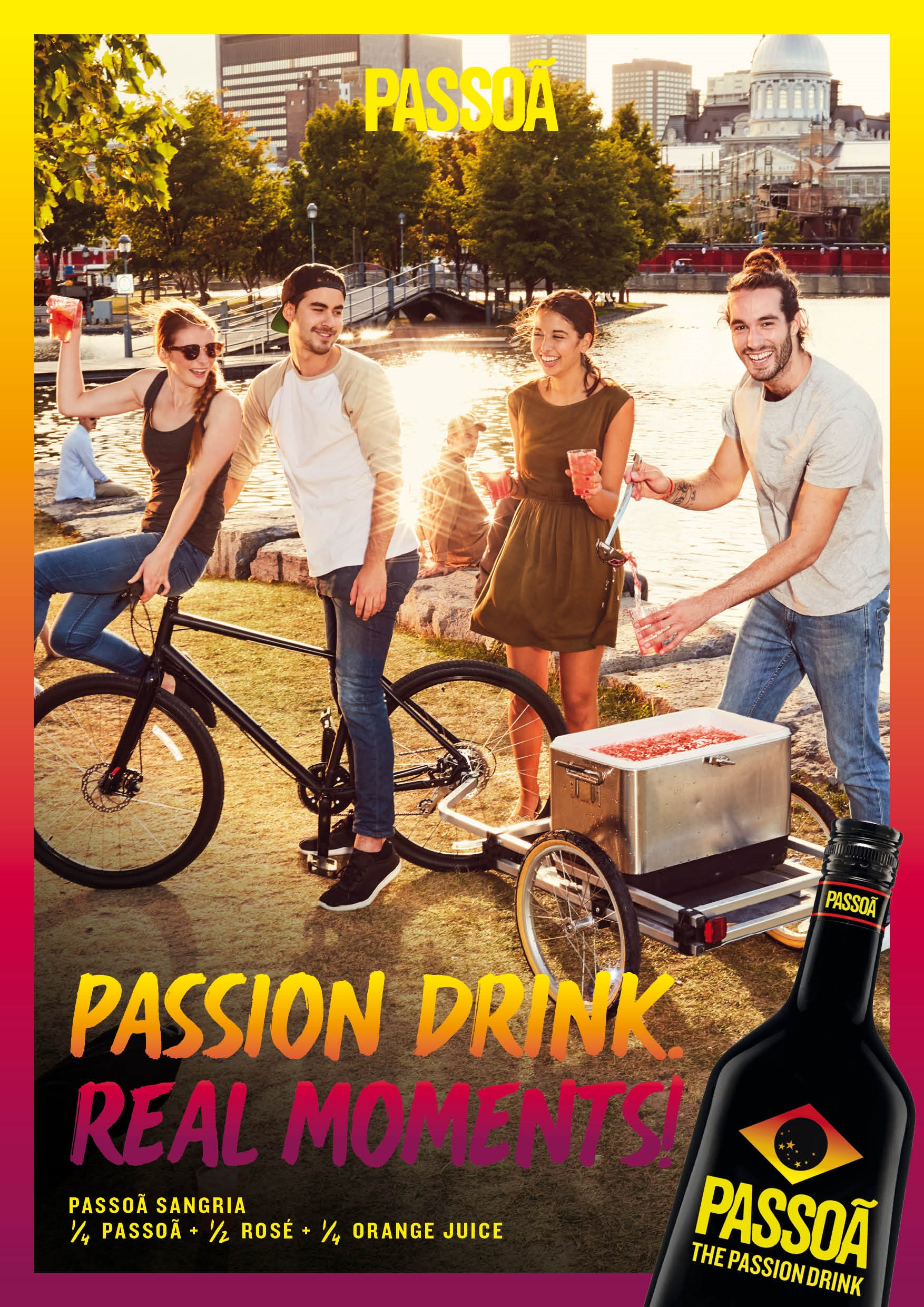 Passoa 'The Passion Drink' Liqueur